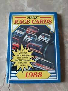 1988 Maxx Race Cards Charlotte wax pack sealed