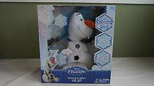 Disney Frozen Olaf Dance Sing Plush Doll Sings In Summer Walmart Exclusive
