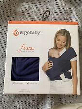 Ergobaby Aura Baby Wrap Indigo Navy Blue