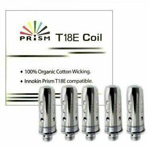 Innokin T18E Coils T22E Replacement Prism Endura Coil Heads 1.5ohm (pk 5) UK
