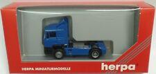 Herpa nº 142021 Man f90 solo-Tractor (azul) - en su embalaje original
