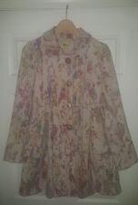 Anthropologie Elevenses Fresco wool Coat winter jacket Size 0 XS vintage look