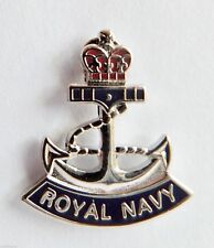 royal navy anchor lapel badge RN