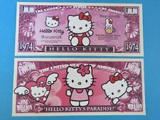 Hello Kitty's Paradise; Japanese Bobtail Cat ~ $1,000,000 One Million Dollars
