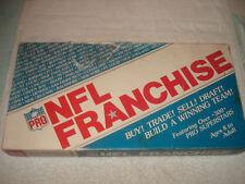 Vintage NFL FRANCHISE 1982 Board Game buy trade sell draft 300+ superstar