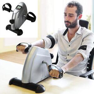 Heimtrainer Mini Bike Armtrainer und Beintrainer mit LCD-Display Fitnessbike