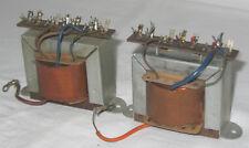 2 TELEFUNKEN ausgangsübertrager output transformer tube amp se el84 027 10w a