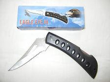 "Eagle Eye III 15-109B Frost Cutlery 9"" folding pocket knife NIB w/FREE GIFT"