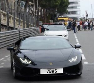 private registration plate dateless 7BAS pls read before bidding