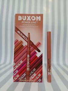 BUXOM Power Line Plumping Lip Liner Hush Hush Henna 0.01oz Full Size NEW