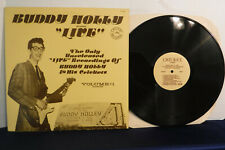Buddy Holly Live Volume 1, Cricket Records C001000, 1977 Rock & Roll, Interviews