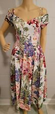 New listing Vintage Moda Int'L Summer Dress Maxi Floral Made In Korea Size 6