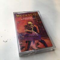 Megadeth - Peace Sells... But Who's Buying? + Bonus Tracks (Cassette) Rare!!