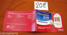 Manual Gebruiksaanwijzing Ascensia bloedglucosemeter Bayer Elite Systems