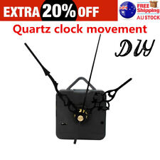 Quartz Wall Clock Movement Mechanism Black Hands DIY Repair Parts Kit G#