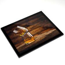 Mantel Individual De Cristal 20x25 Cm-vasos de beber whisky Whisky Alcohol #16204