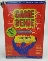 Game Genie Super Nintendo SNES Complete CIB Authentic Tested FREE SHIP