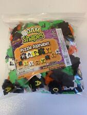 Foam Shapes Puzzle Alphabet Halloween Creative Hands NEW Retired 2003