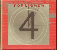 Foreigner 4 24 Karat Gold CD Atlantic Gold OOP
