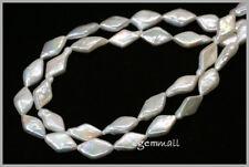 "14.5"" Freshwater Pearl Rhombus Shape ap.9x15mm #66134"