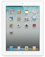 Apple iPad 2 64GB, Wi-Fi + Cellular (Unlocked), A1396, 9.7in - White