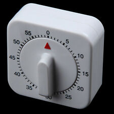 Baking Reminder Alarm Round Food Kitchen 60 Minutes Square Mechanical Timer