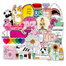 50PCS Cute Skateboard Stickers bomb Vinyl Laptop Luggage Decals Dope Sticker Lot