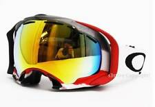 New Oakley Splice Snow Goggle Simon Dumont Signature Apocalyptic/Fire Iridium