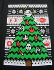 New STAR WARS Ugly Christmas Sweater Print SS Black T Shirt Size L (NWOT)