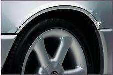 Chrome PASSARUOTA arcate Guardia Protettore stampaggio si adatta a Audi
