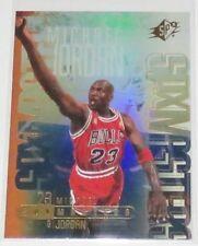 2000/01 Michael Jordan Upper Deck SPx Masters Refractor Like Insert Card #M1 NM