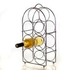 Metall Flaschenregal für 7 Flaschen,Weinregal,Weinflaschenregal,Flaschenständer