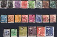 BRD.Alliierte Besatzung - 1947-48 Mi.: 943-962 - Freimarken Gestempelt Satz