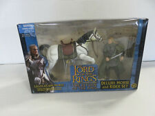 Lord of the Rings RotK LEGOLAS WITH HORSE Deluxe Horse & Rider Set - Toy Biz NIB