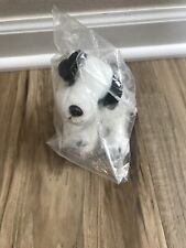 """Vintage RCA Nipper Dog Plush with Collar Soft Paws 6"""" Stuffed Collector Series 1"""