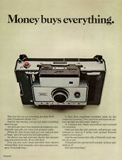 1970 Polaroid Land Camera Model 350 AD Money Buys Everything Vintag Print Advert