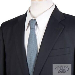 BROOKS BROTHERS COUNTRY CLUB Blazer 42S Navy Blue SAXXON Wool Bright Brass USA