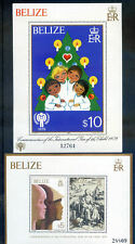 Beliz 1980 I.Y.C. Pqir of Miniature Sheets Hinged mint (2020/02/05#04)