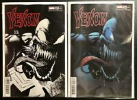 🚨🔥🕸 VENOM #29 RYAN STEGMAN SET OF 2 1:25 B&W Sketch + Color Variant NM