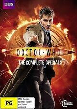 Doctor Who - Complete Specials Boxset (DVD 2013, 5 Discs) New ExRetail Stock D73