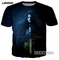 New Fashion Womens/Mens Game of Thrones Funny 3D Print Casual T-Shirt YT848