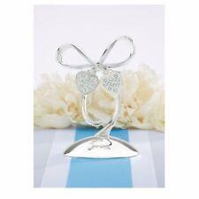 Lenox Romance Silver & Rhinestone Cake Topper Wedding, Shower, Anniversary-Nib