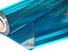 10m Metallic Cellophane Roll Teal (1859-10)