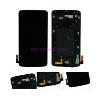 FOR LG Tribute 5 K7 LS675 K330 MS330 LCD Touch Screen Display Digitizer Frame US