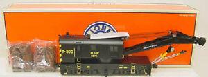 Lionel 6-29800 Maintenance of Way Crane Car w/TMCC LN/Box