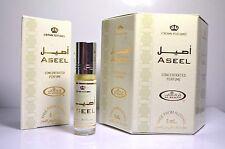 Box of 6 Aseel 6ml Al Rehab Best Seller Perfume oil/Attar / Ittar