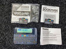More details for franklin bookman dmq-640 plus 2 x cartridges - words games & encyclopedia