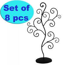 ZN1268-8 Set of 8 Decorative Jewelry Stand Display Tree Design