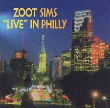 ZOOT SIMS - Live in Philly -(CD, Sep-1998, 32 Records)-NEW