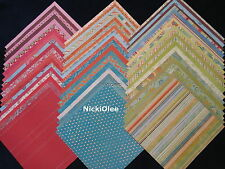 12x12 Scrapbook Paper My Minds Eye MME Magnolia Wholesale Lot 60 Kit Supplies